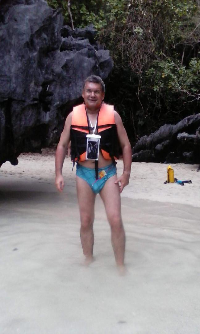 Der Autor Mai 2018, Secret Beach (Bacuit Archipelago)