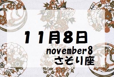 11月8日誕生石守護石