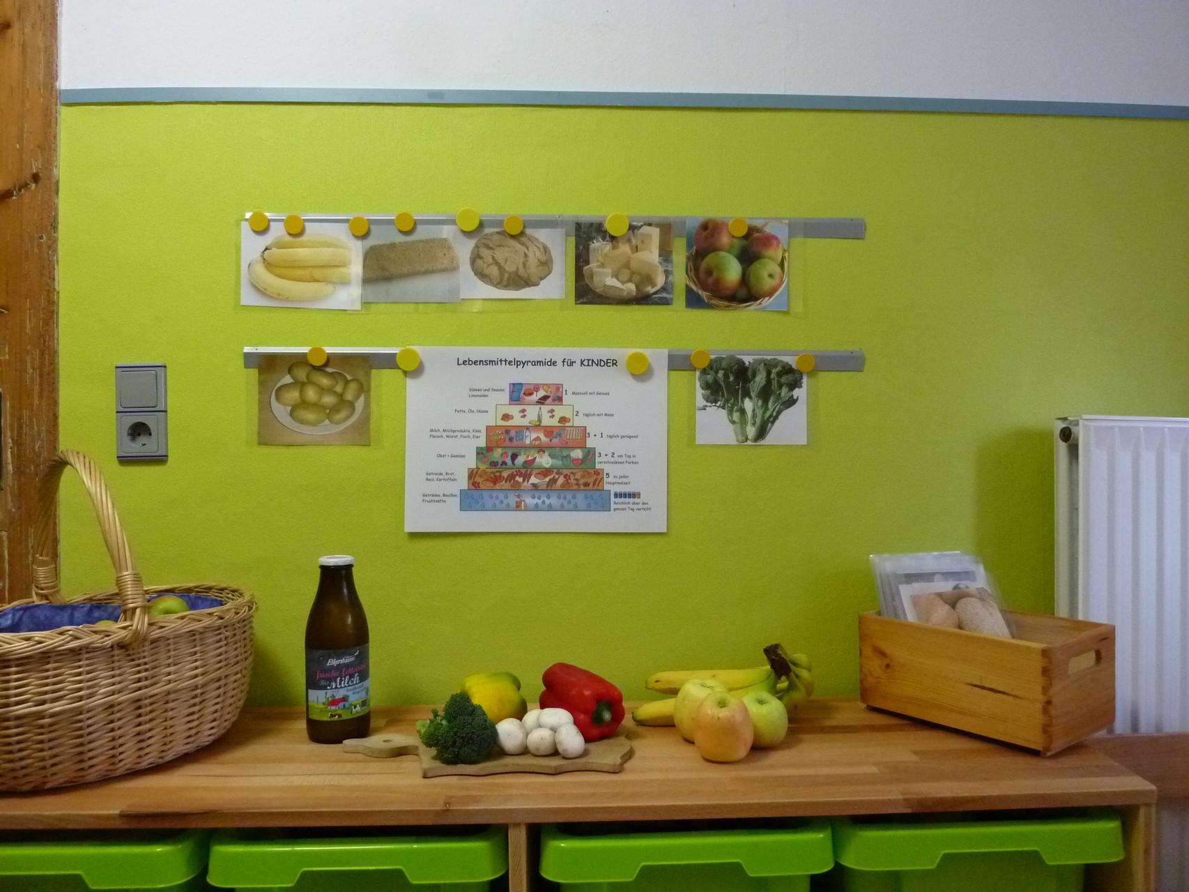 Der Küchen-Bereich