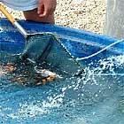 Was für den großen Teich gilt, gilt auch für die kleinen Hälterbecken.