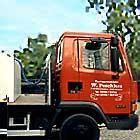 Einer unserer eigenen Spezialtransporter.
