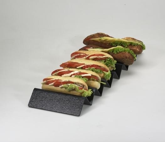 Présentoir à sandwichs, 6 emplacements, large 9903051