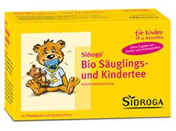 Rückruf Bio Säuglings- und Kindertee Sidroga