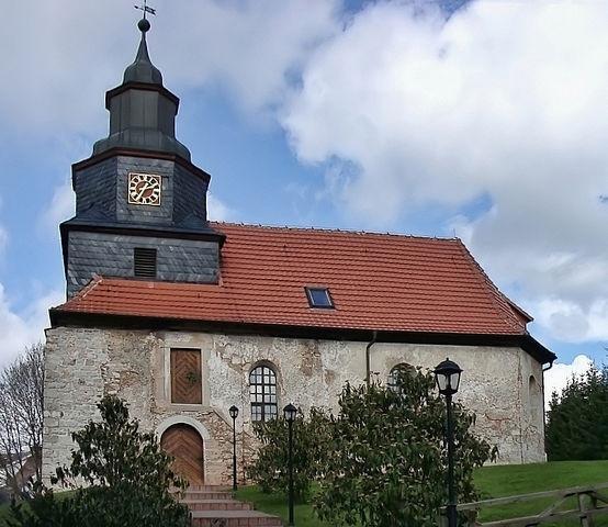 """Kirche von Werningerode"", Fotograf: Ulli1105, Quelle: de.wikipedia.org"