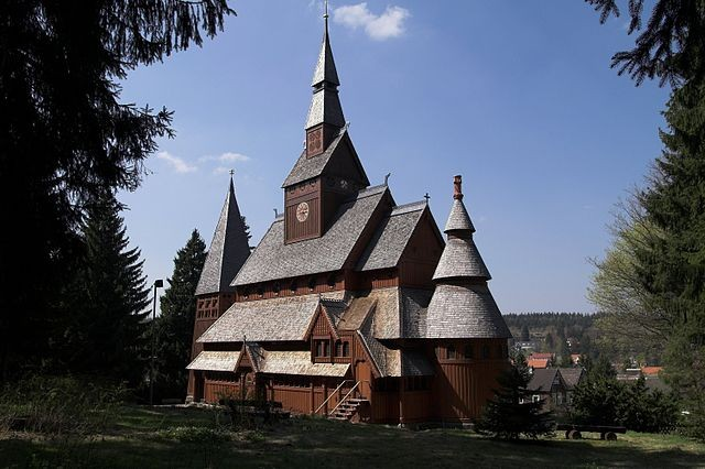 """Hahnenklee Stave Church South."" Photographer: Kassandro, source: de.wikipedia.org"