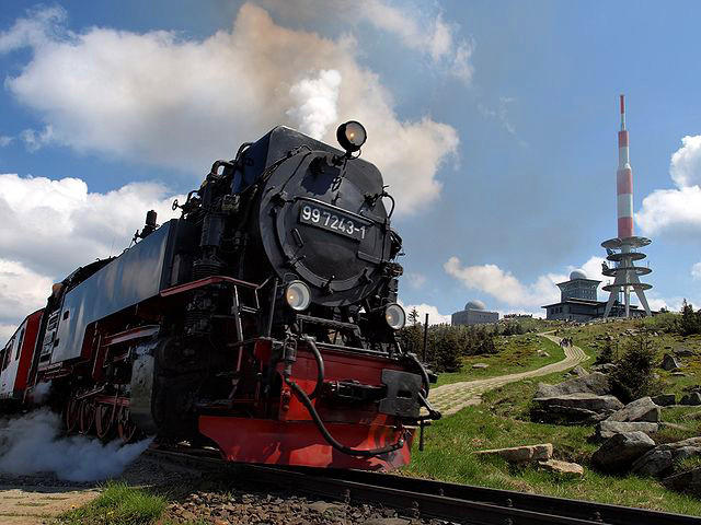"Fotograf: Nawi112, Titel: ""Brockenbahn"", Quelle: de.wikipedia.org"