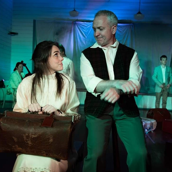 McSwat with Sybylla in SOOT's 2019 Geelong production