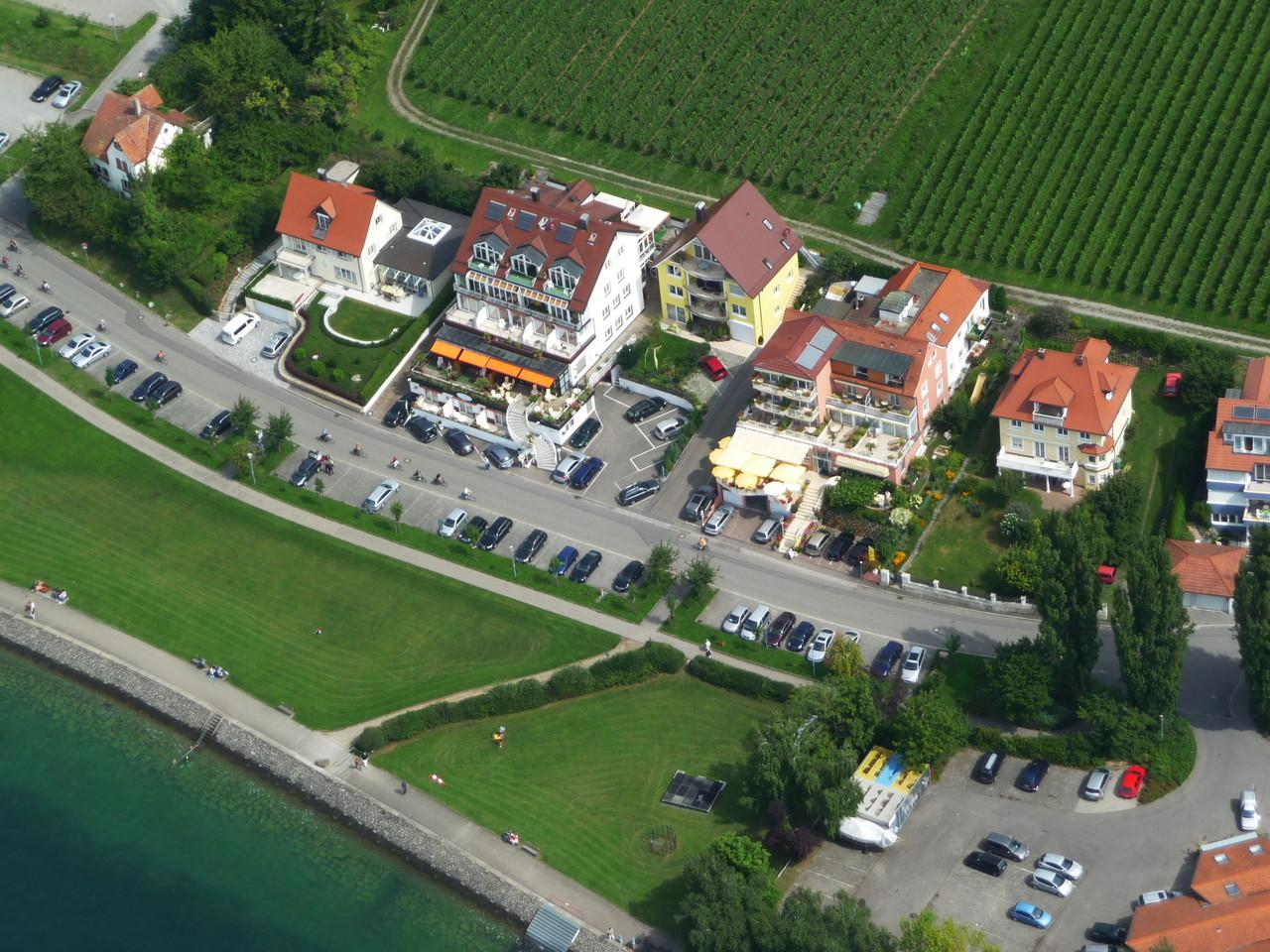 Lage Fewo in Meersburg direkt am See Seesicht