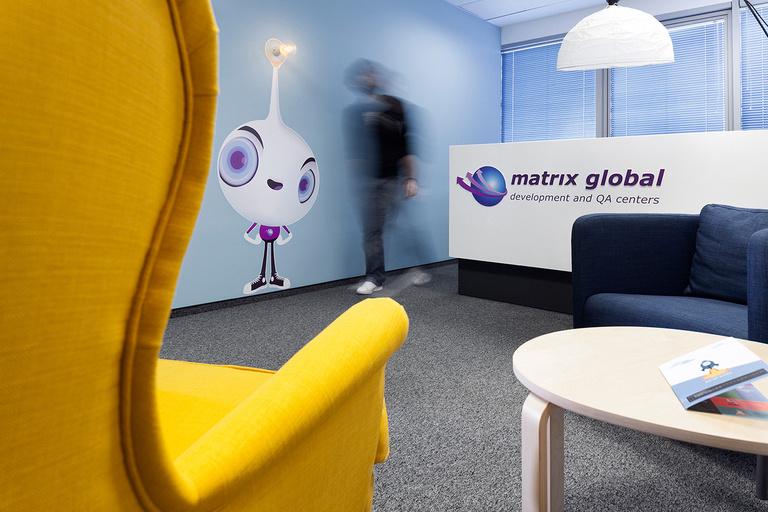 5 Офис Matrix Global в Софии. Дизайн офисов Москва 89163172980