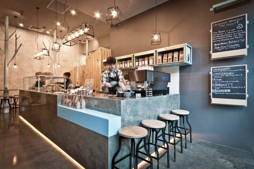 4 Дизайн кафе Raw Trader. Дизайн ресторанов Москва 89163172980