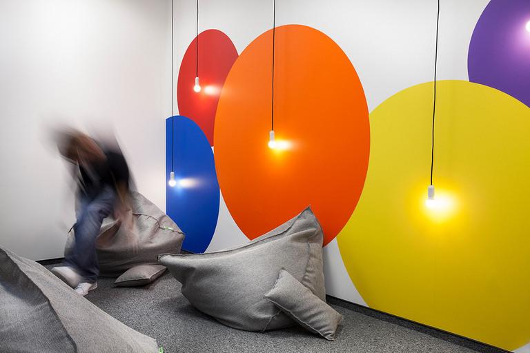 4 Офис Matrix Global в Софии. Дизайн офисов Москва 89163172980