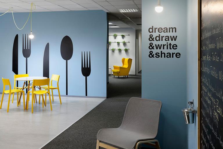 3 Офис Matrix Global в Софии. Дизайн офисов Москва 89163172980