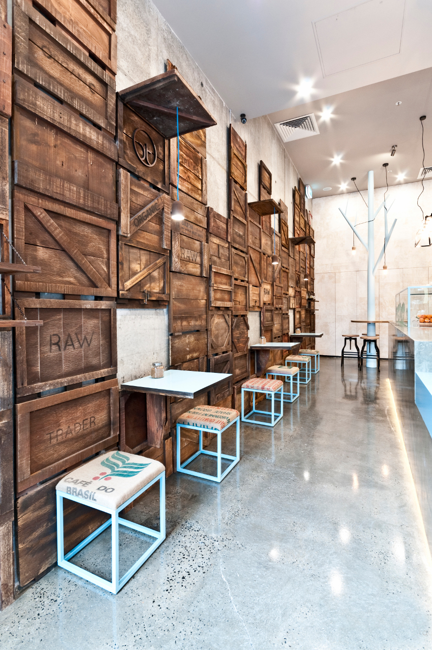 6 Дизайн кафе Raw Trader. Дизайн ресторанов Москва 89163172980