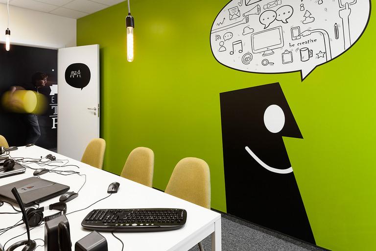 10 Офис Matrix Global в Софии. Дизайн офисов Москва 89163172980