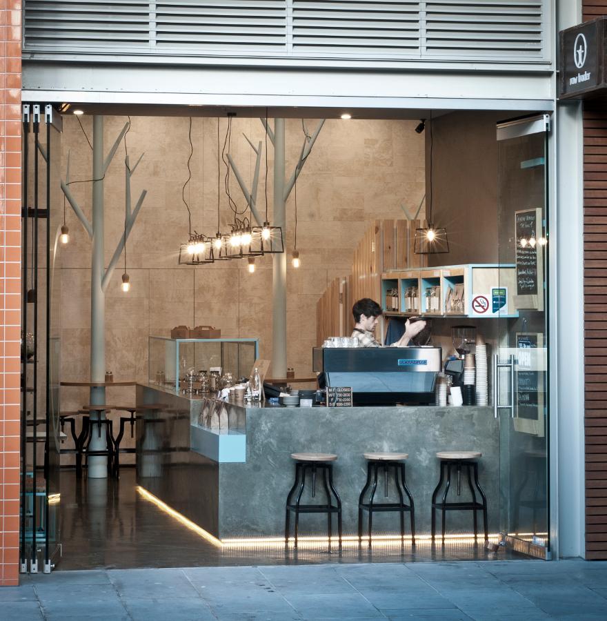 1 Дизайн кафе Raw Trader. Дизайн ресторанов Москва 89163172980