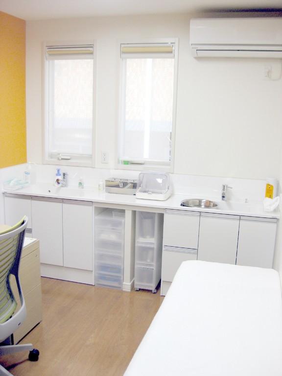 診察室1です。もう一つ診察室があります。