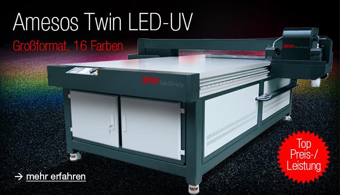 amesos Twin UV Flachbett Digital-drucker