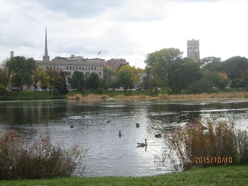 ミネアポリス市内の公園(ミネソタ州)