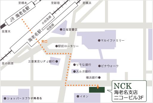 海老名支店 地図
