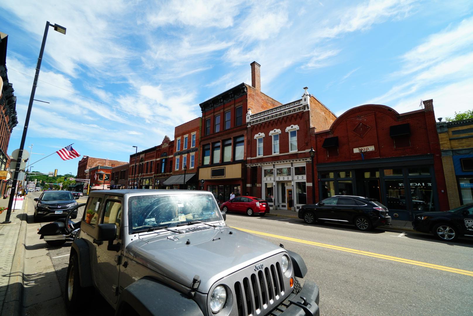 1800年代の街並みが残る古い町スチルウォーター(ミネソタ州)