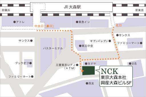 東京大森本社 地図