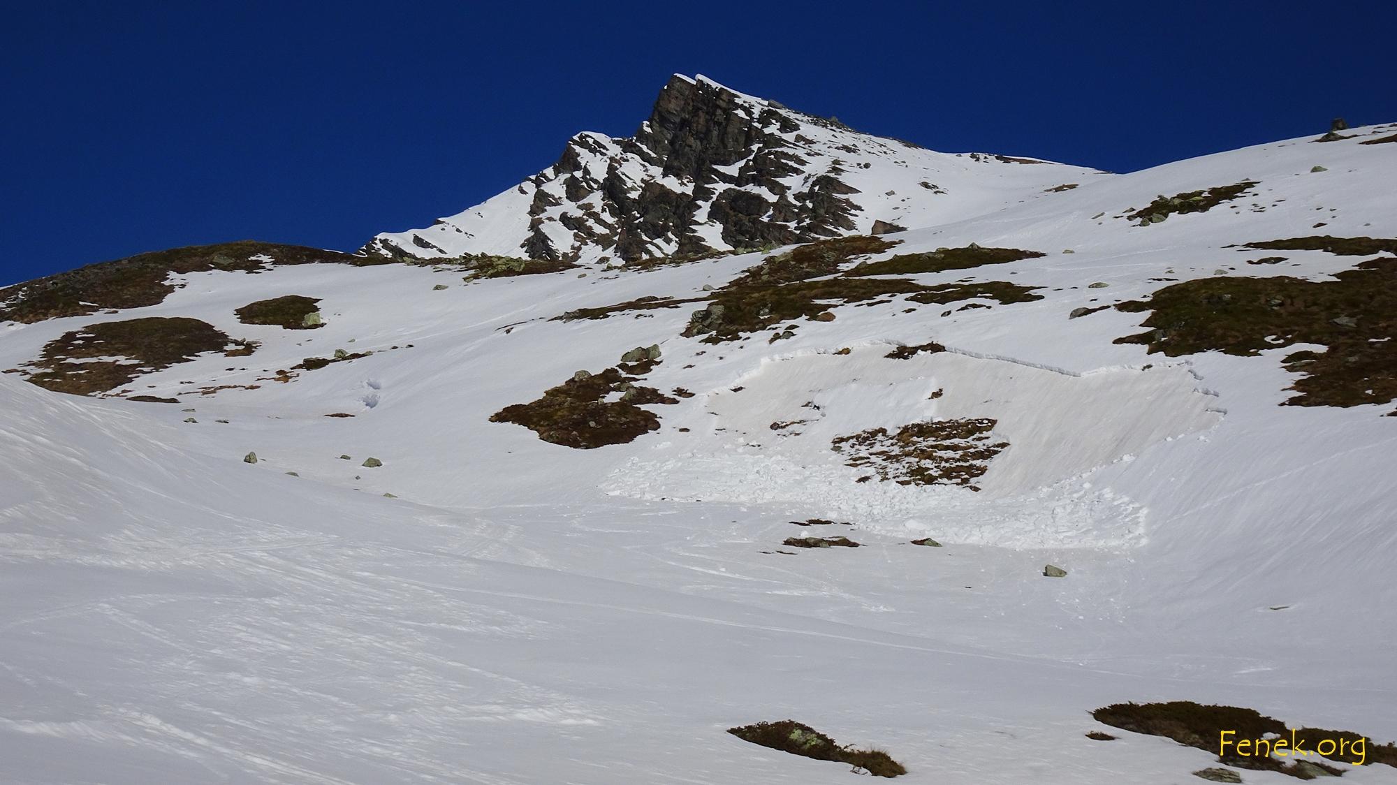 Schneerutsch - die Wärme machts....