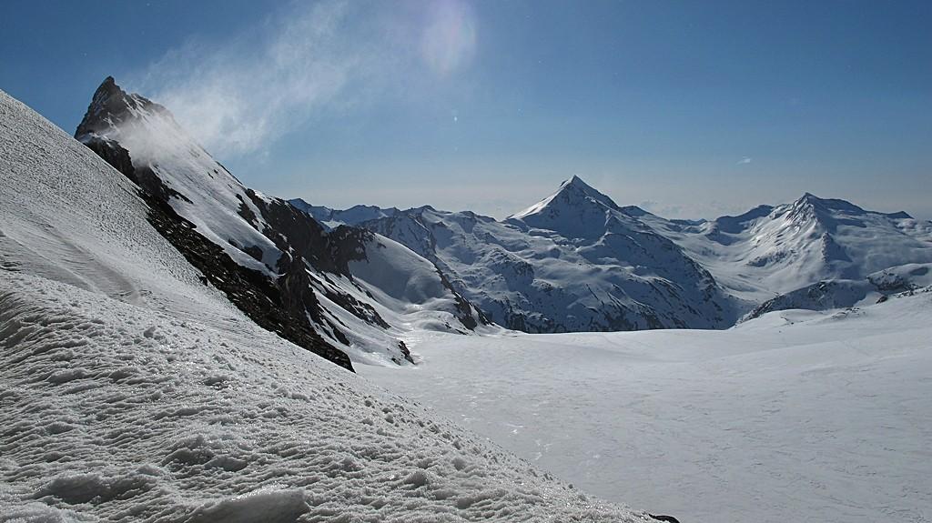 Blick über den Hohlaubgletscher
