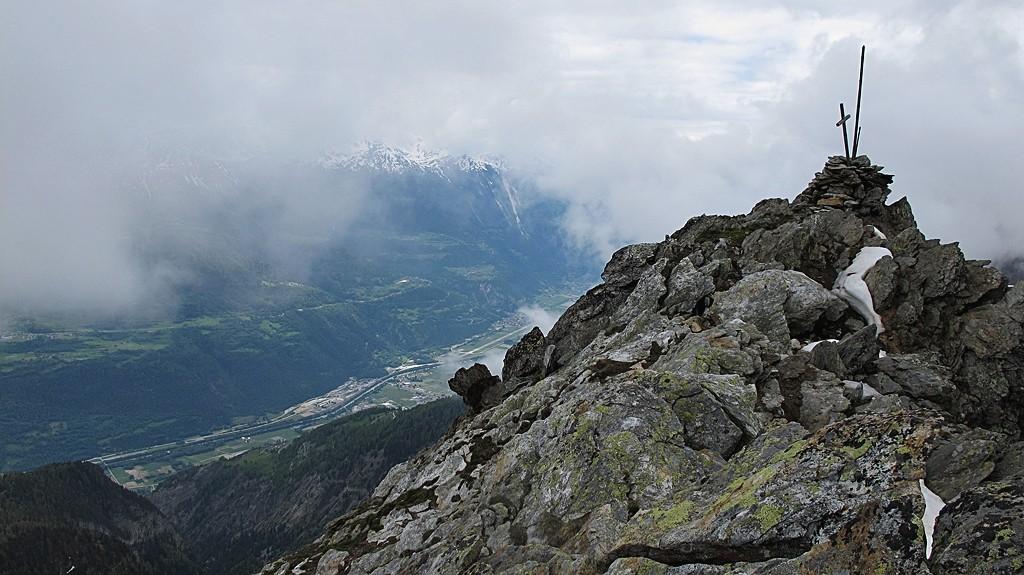 Gipfel Schwarzhorn