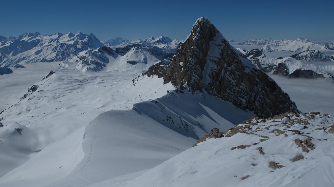 Gipfelblick auf den Barglen