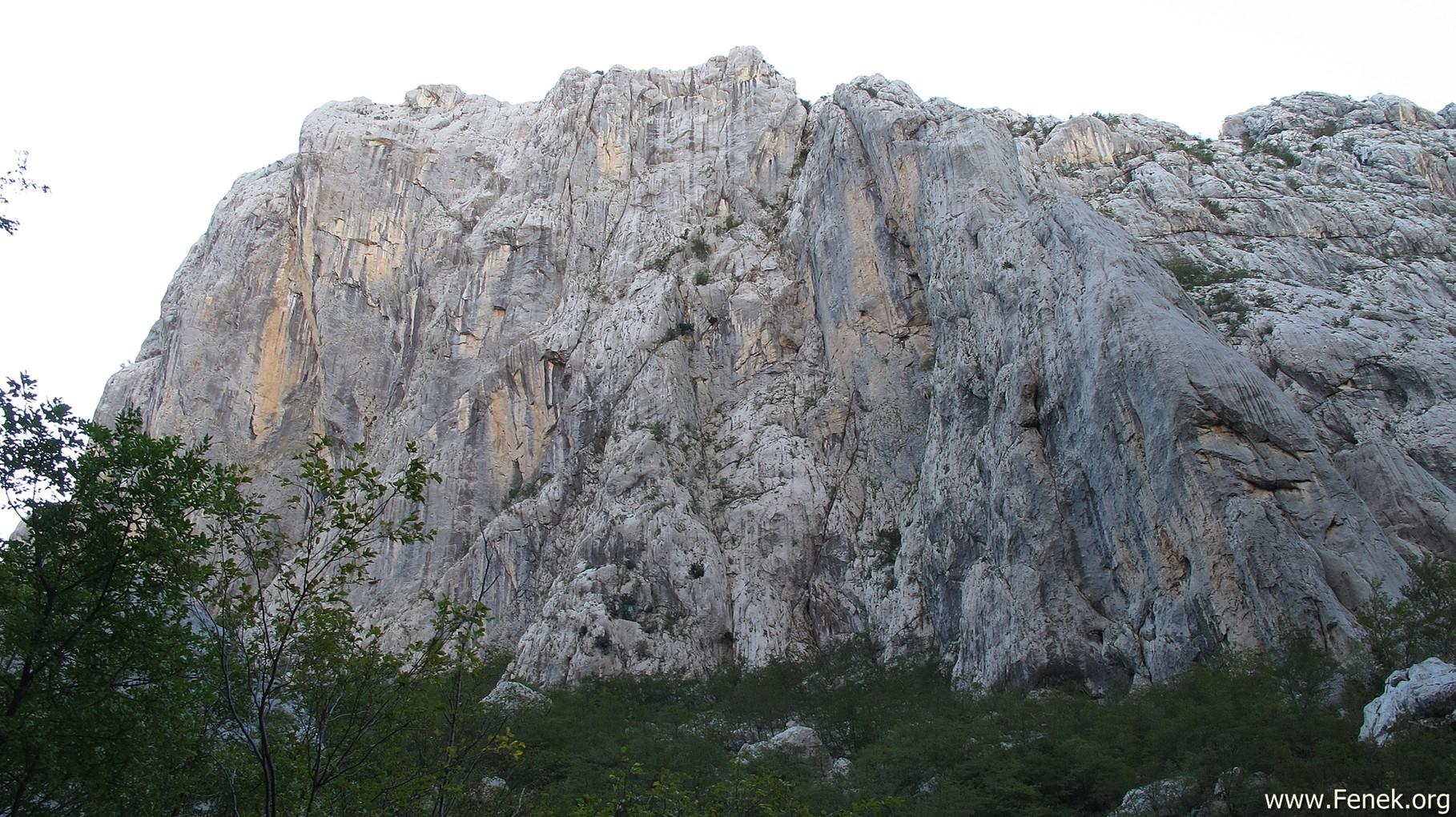 da schlagen Kletterherzen höher - Nordwand Anica Kuk