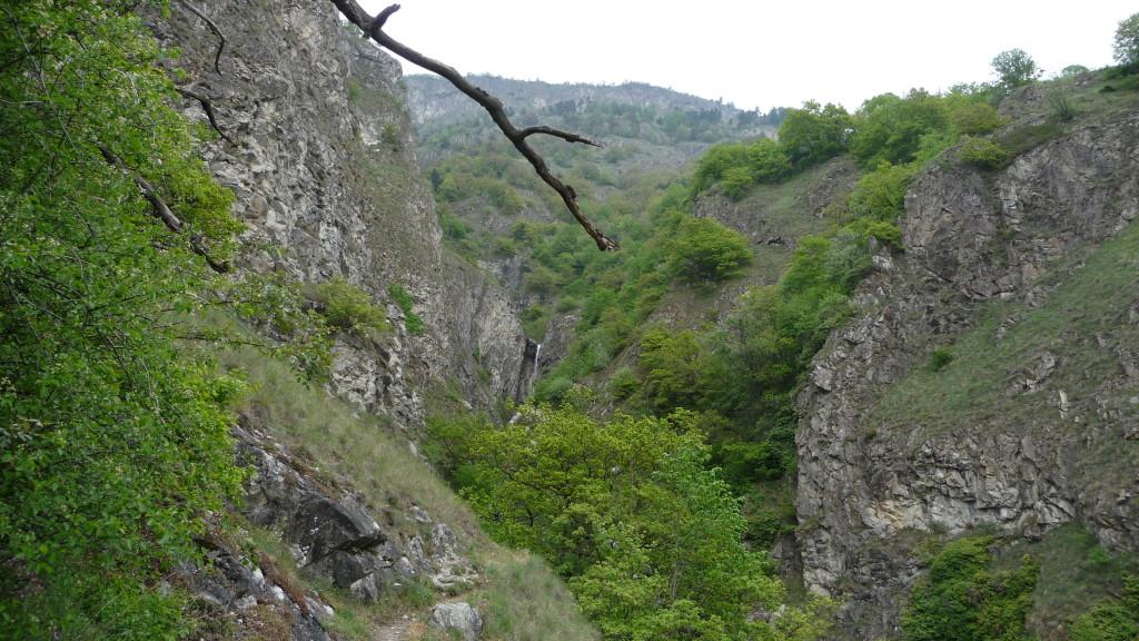 eine wilde Gegend und ziemlich einsam....