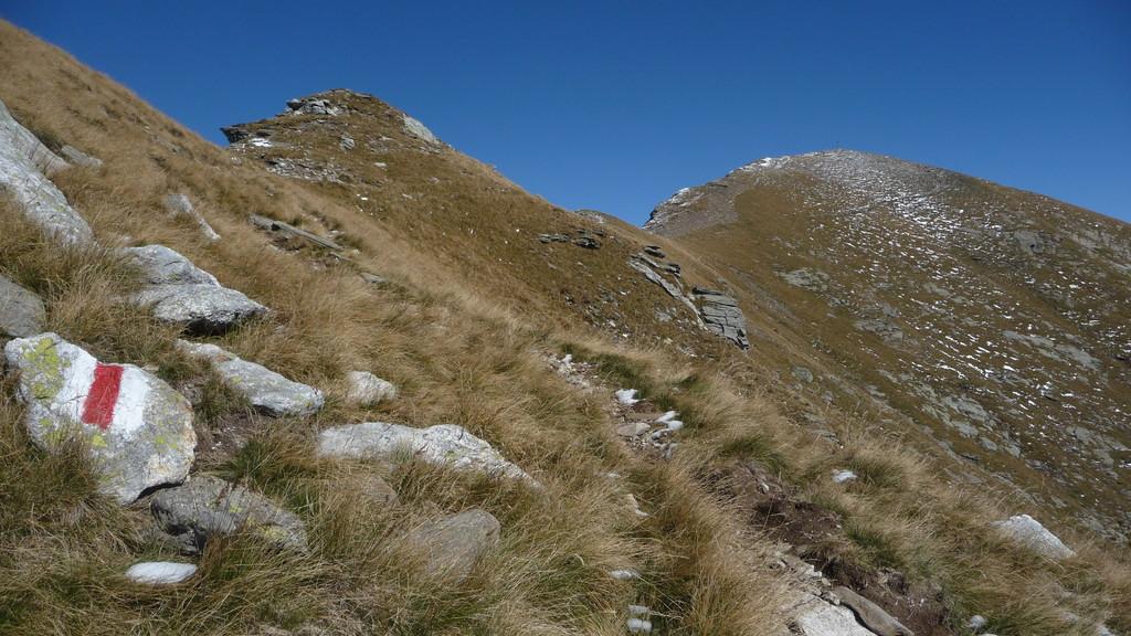 der Gipfel vom Gaggio naht