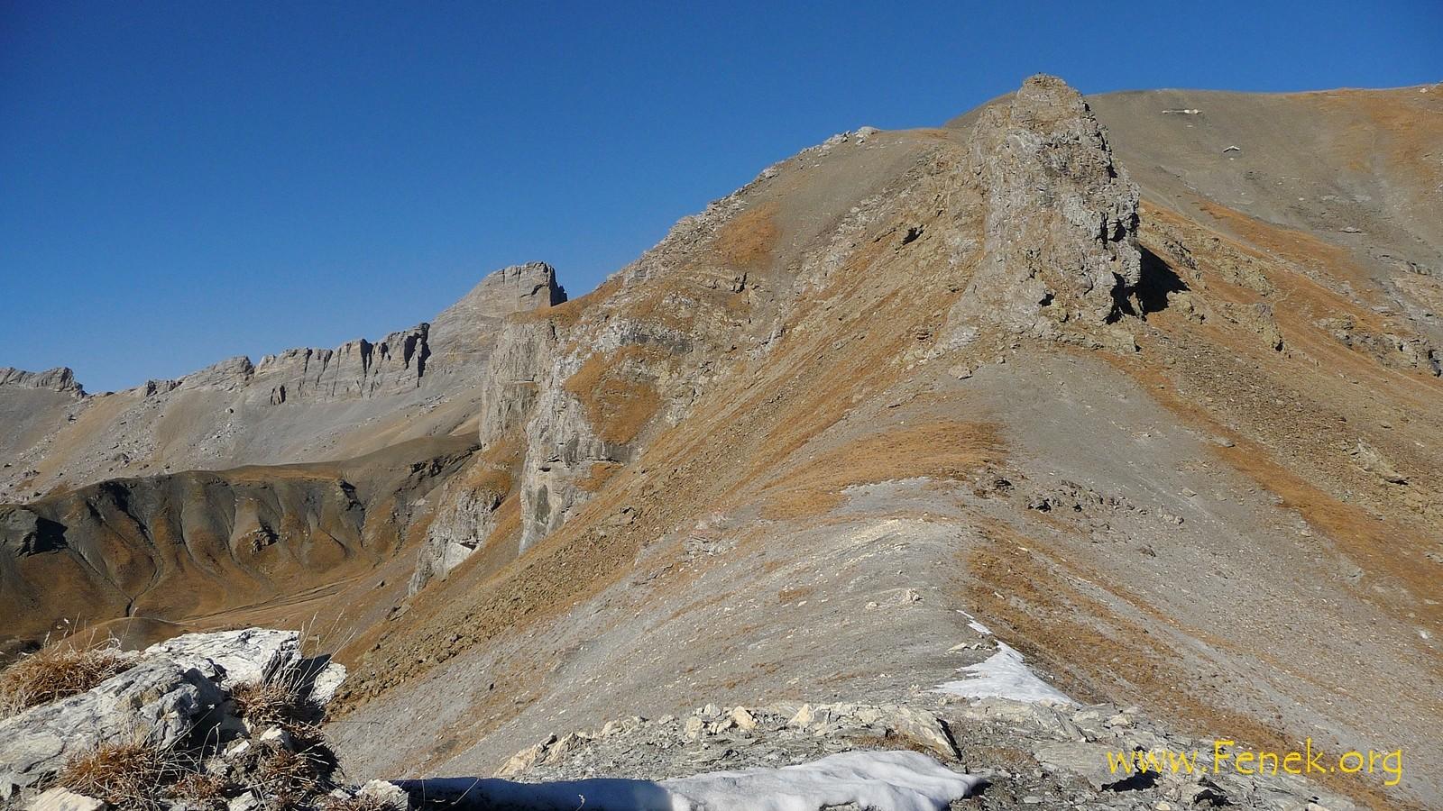 rechts oben Tschajetuhorn