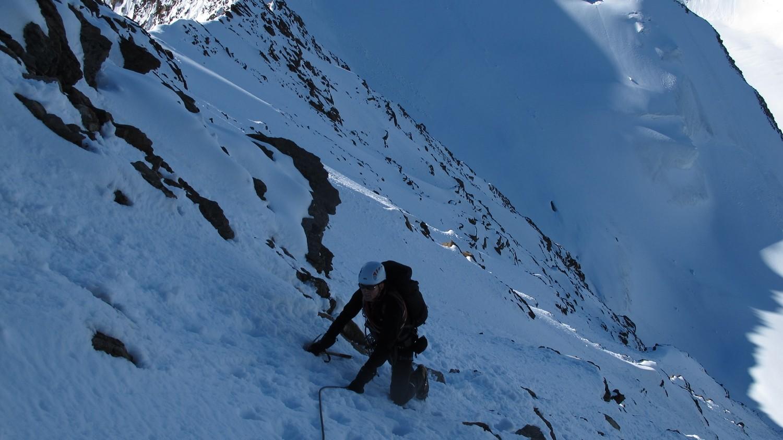 Abstieg vom Gipfel....