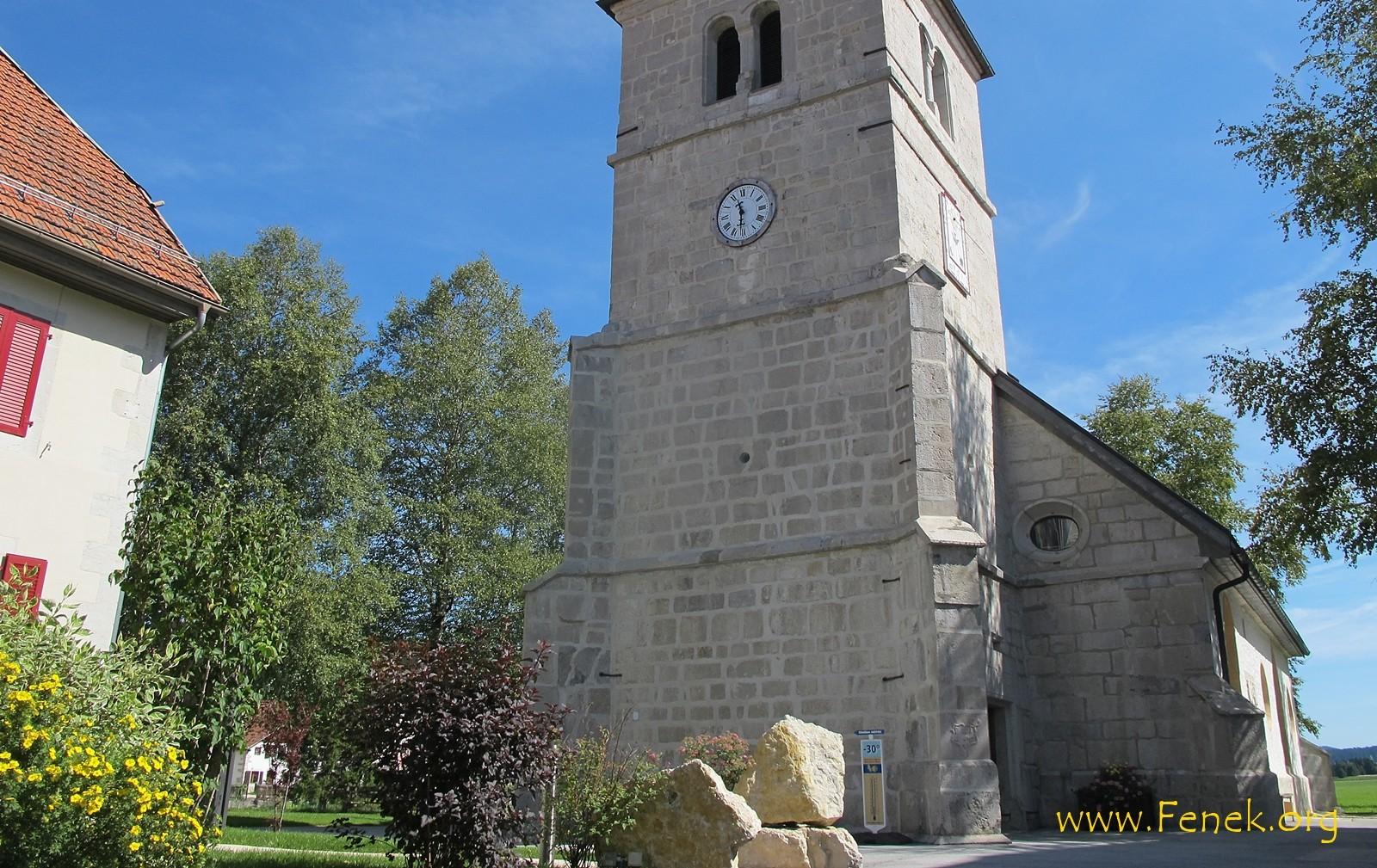 Kirche von La Brévine