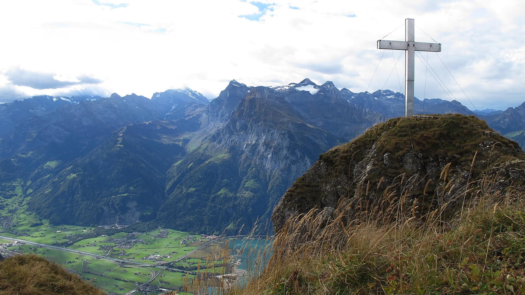groooosses Gipfelkreuz