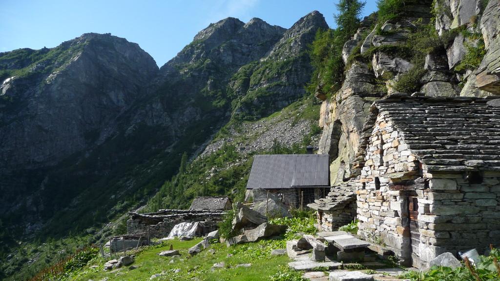 liebevoll gepflegte Alphütte