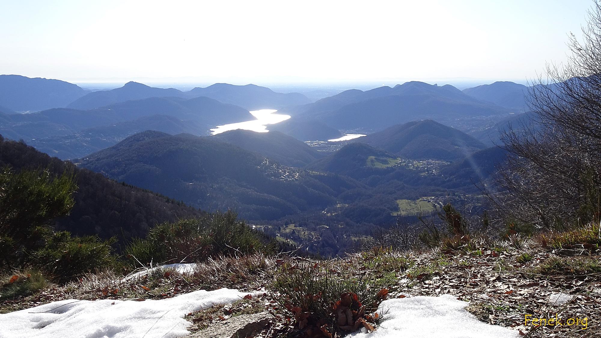 Aussicht Richtung Ponte Tresa - Süden