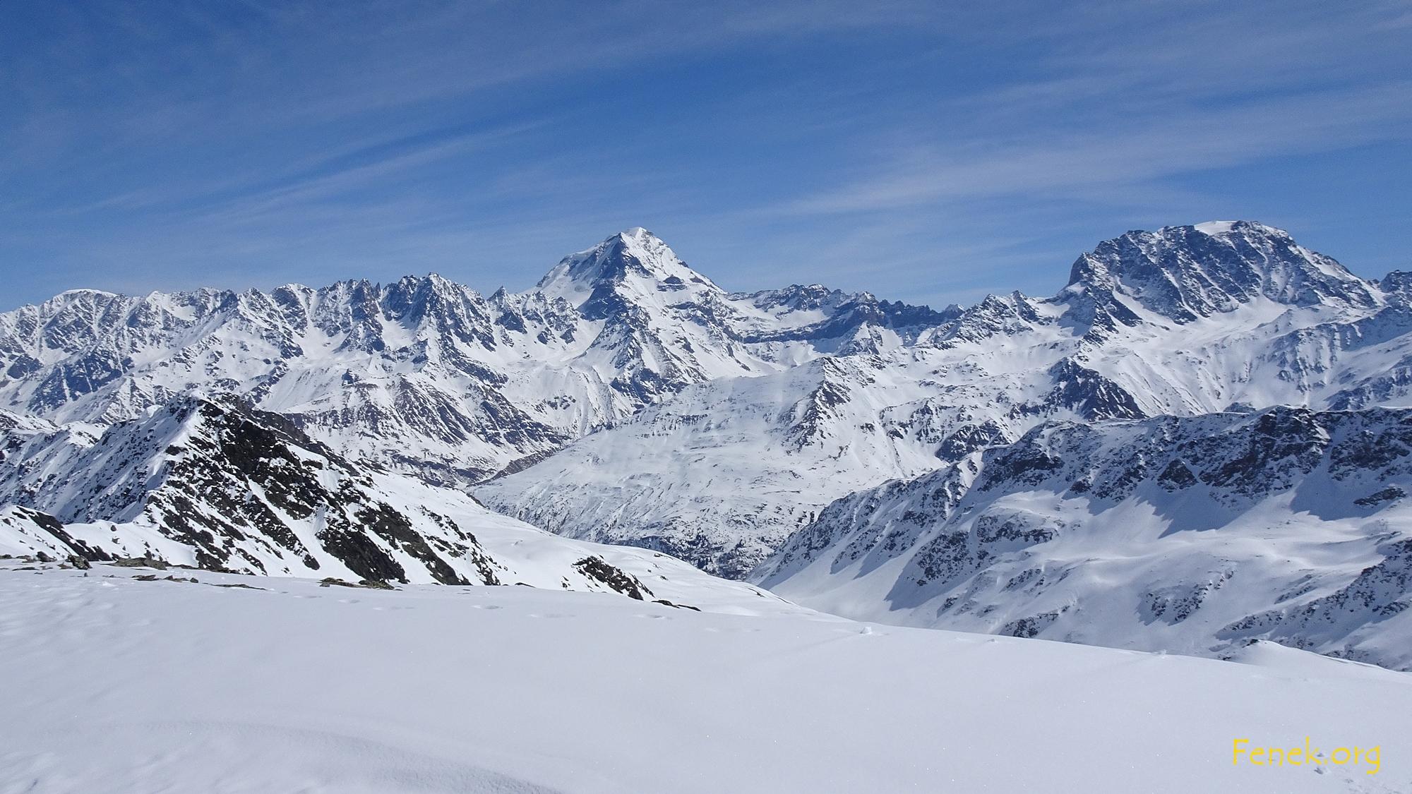 Mont Velan und Grand Combin