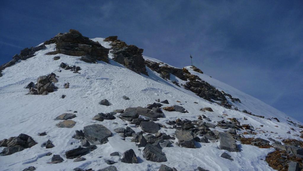 Ausstieg 43° steil