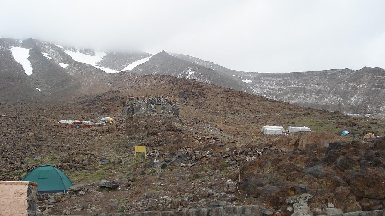 Lager II auf 4'150m