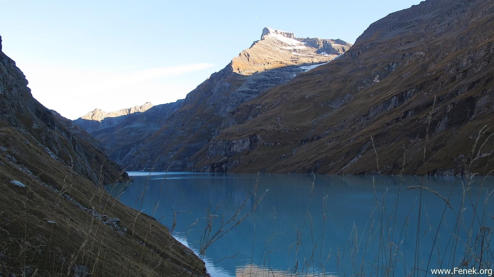 Lac de Mauvoisin mit Le Pleureur