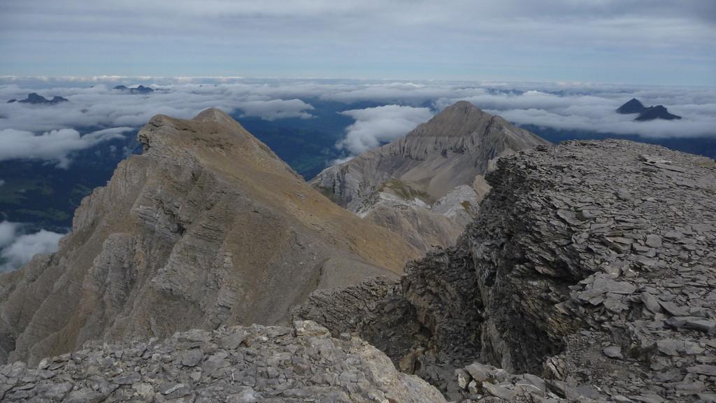 Nordwesten - links das Arpelihorn