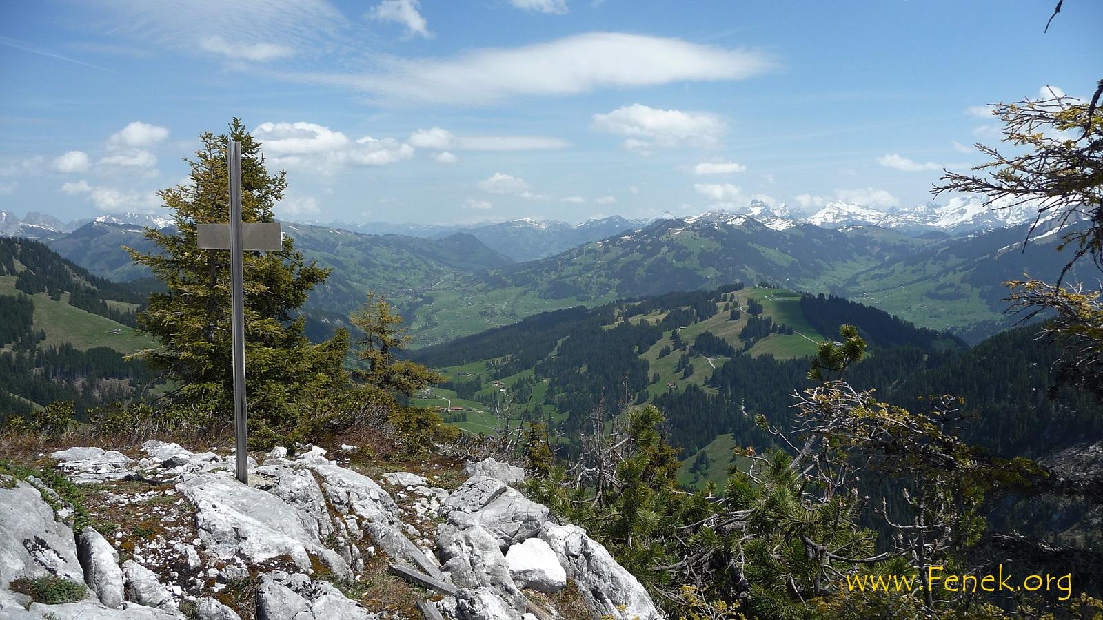 Blick Richtung Schönried