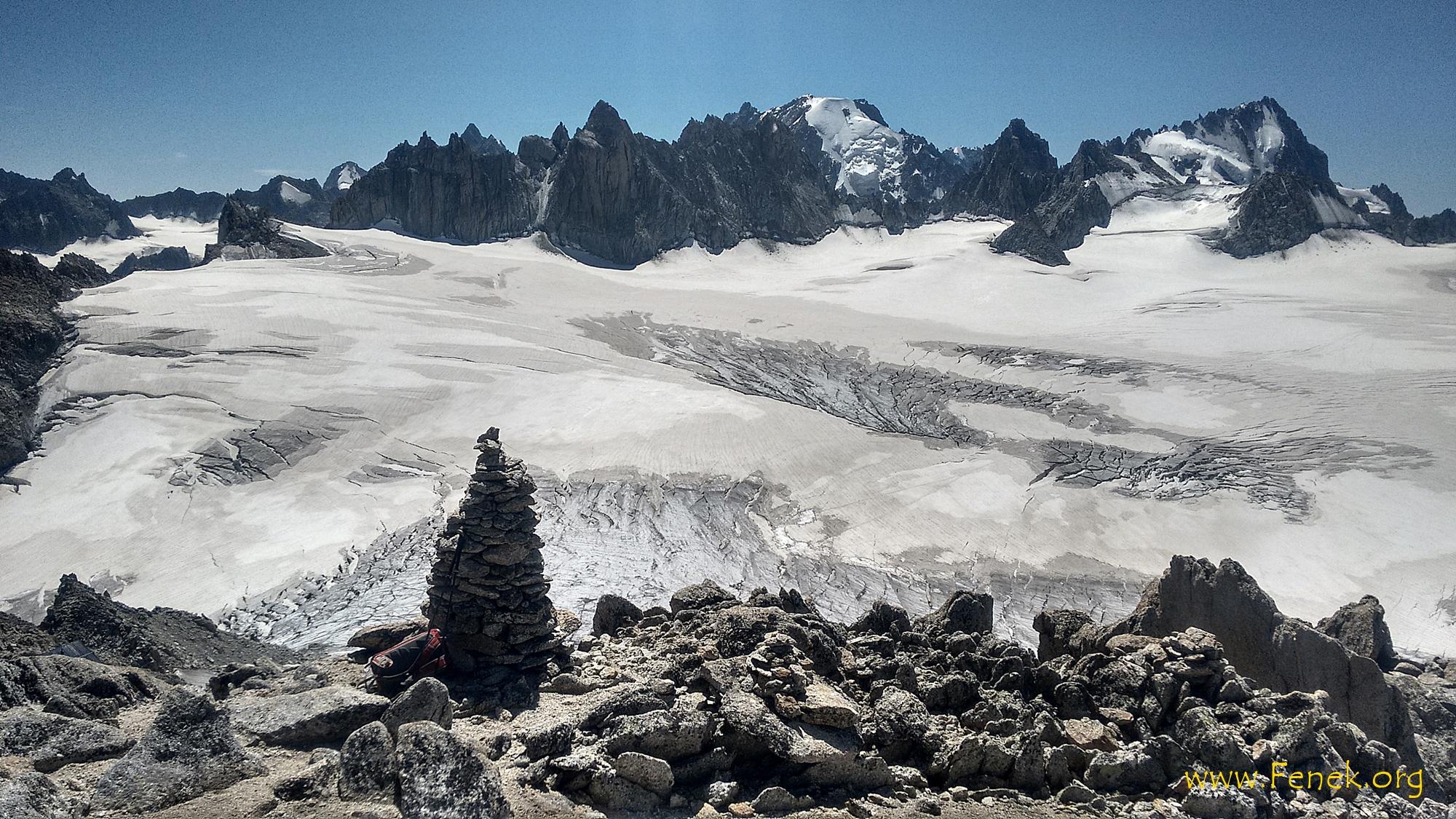 Gipfelaussicht Pointe d'Orny