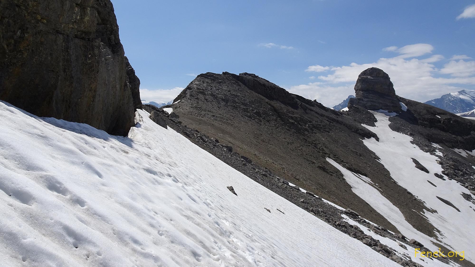 Schneefeld - mit Vorsicht geht's