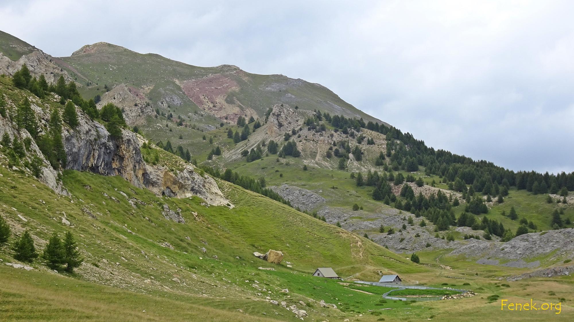 der Gipfel ist schon sichtbar, aber noch ein Stück entfernt