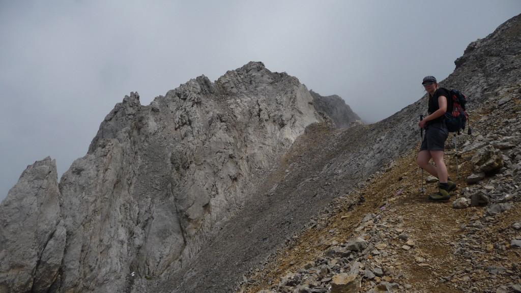 der Gipfel kommt näher