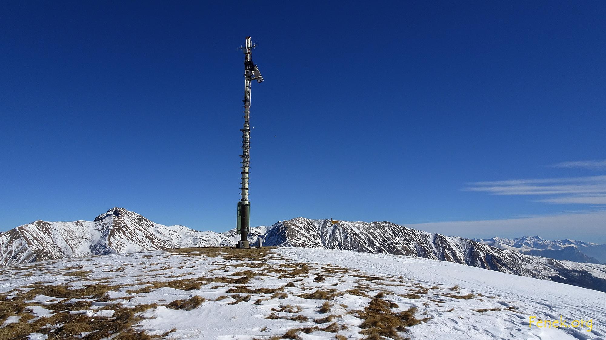 Gipfelantenne Monte Bar