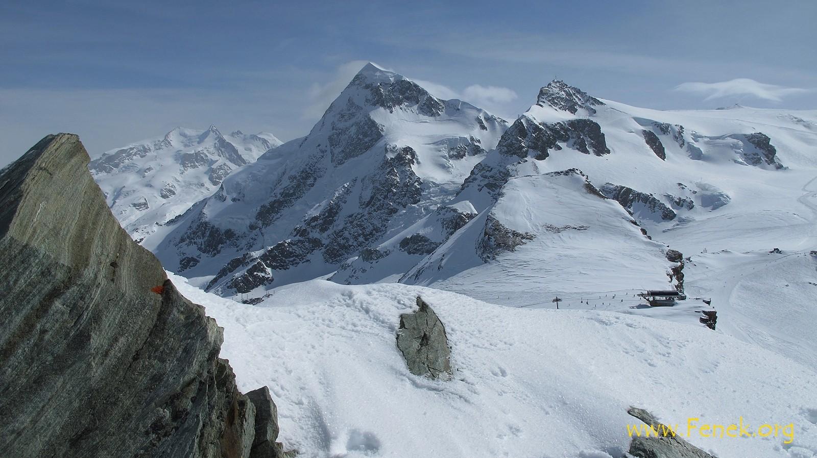 Breithorn und Klein Matterhorn